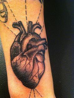 sarah b bolden heart #tattoo