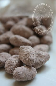 AMANDE CHOCOLAT (recette de christophe felder)
