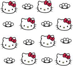 Hello Kitty Pattern PSD