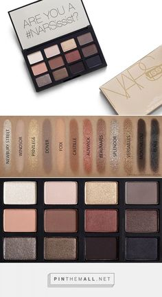 NARS Loaded new NARSissist eyeshadow palette