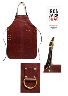 Leather MXS apron