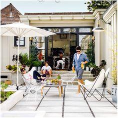 paver patio - Sunset magazine