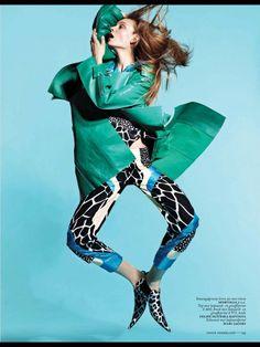VOGUE HOLANDA | Editorial Moda Março 2013 | Nimue Smit por Jan Welters
