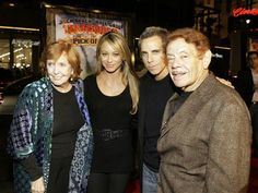 I love the Stiller family! Popular People, Famous People, Kyle Gass, Christine Taylor, Physical Comedy, Ben Stiller, King Of Queens, Star Family, All In The Family