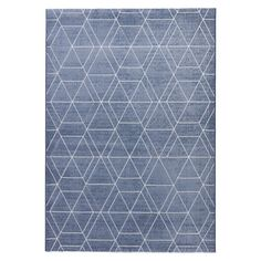 Shop for Modern Geometric Pattern Blue/ Neutral Polypropylene Area Rug (7'10 x 9'6). Get free shipping at Overstock.com - Your Online Home Decor Outlet Store! Get 5% in rewards with Club O!