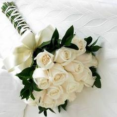 Irving Wedding Flowers - Simply White Bridal Bouquet flowers white How to Make Bridal Bouquets White Rose Bouquet, White Roses Wedding, Rose Bridal Bouquet, Rose Wedding Bouquet, White Wedding Bouquets, White Wedding Flowers, Bride Bouquets, Bridal Flowers, White Bridal
