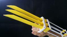 如何使一紙金剛狼爪 | 創意產品
