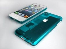 Bondi Blue iPhone