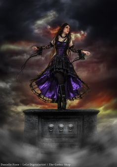 Le Blog Gothic Shop: Velika Robe - Danielle Fiore - LeLe digitalartist