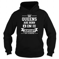 Queens Are Born In January LIMITED TIME ONLY. ORDER NOW if you like, Item Not Sold Anywhere Else. Amazing for you or gift for your family members and your friends. Thank you! #queens #january