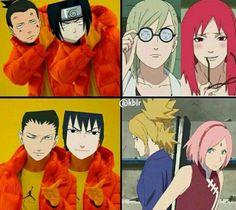 Funny Anime Couples Manga Ships New Ideas Hinata, Naruto Anime, Naruto Sasuke Sakura, Naruto Uzumaki Shippuden, Naruto Cute, Naruto Girls, Otaku Anime, Naruhina, Gaara
