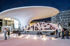 SWA designs people-centric landscape and public realm for Chase Center Mission Bay, Outdoor Living Rooms, Public Realm, Micro Garden, Showroom Design, Sky Garden, Living Environment, Waterfront Homes, Landscape Design