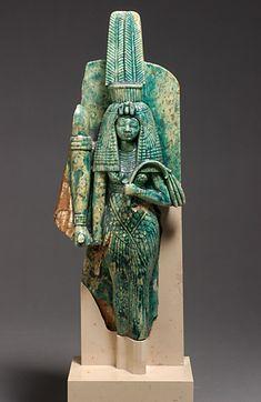 Queen Tiy and Amenhotep III  glazed steatite  18th dynasty, reign of Amenhotep III