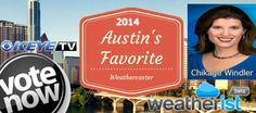 @keyetv @chikagekeyetv needs your shares and votes @ http://weatherist.com/blog/2014/07/22/vote-for-austins-favorite-weathercaster  to be 2014 #Austin's Favorite #Weathercaster. Vote share daily!