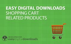 A dedicated plugins for Easy Digital Downloads that will Increase the total purchase amount by displaying related product under the cart in the checkout screen,  http://happyplugins.com/downloads/edd-shopping-cart-related-downloads/