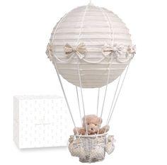 PASITO A PASITO HOT-AIR BALLOON LAMPSHADE WITH TEDDY BEAR