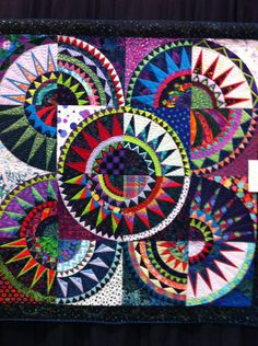 San Diego Quilt Show 9/13…one of my favorites. Sorry, didn't write artist's name down.