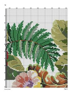 6 (541x700, 196Kb) Cute Cross Stitch, Cross Stitch Flowers, Cross Stitch Charts, Cross Stitch Patterns, Cardigan Pattern, Cutwork, Cactus Plants, Blackwork, Needlepoint