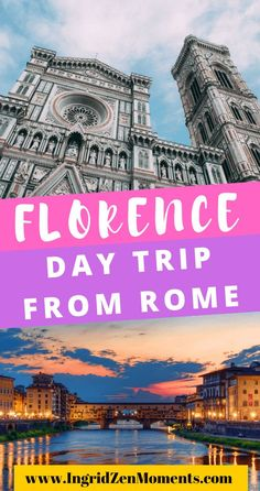 Take the perfect Rome to Florence day trip | Florence things to do | Florence from Rome | travel italy | Florence travel guide | Florence day trip Rome Travel, Italy Travel, Day Trips From Rome, Italy Destinations, Visit Italy, Italy Vacation, Florence Italy, Virtual Tour, Big Ben