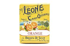 Pastiglie Leone Orange Candies