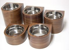Vurv has introduced some sleek new single feeding bowls called FBI (feeder by the inch).