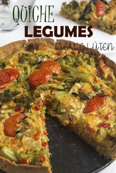 Quiche Recipes, Veg Recipes, Low Carb Recipes, Real Food Recipes, Cooking Recipes, Healthy Recipes, Healthy Food, Vegetarian Cooking, Easy Cooking