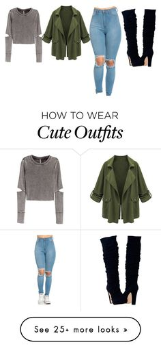 """""""Cute outfit"""" by unicorn-636 on Polyvore featuring H&M"""