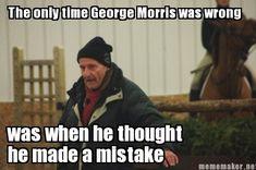 LOL George Morris is never wrong
