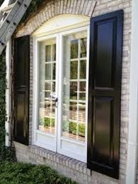 Exterior house shutters ideas exterior shutters design remodel decor and ideas page House Shutter Colors, Exterior Shutter Colors, Window Shutters Exterior, Outdoor Shutters, Exterior House Siding, House Shutters, Exterior Paint Colors For House, Exterior Doors, Diy Exterior
