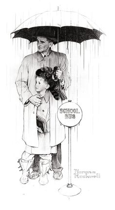 Celebrate Father's Day with Norman Rockwell