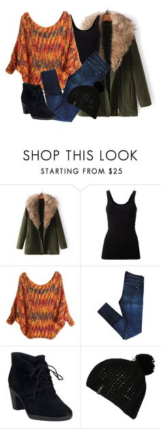 """""""Sin título #781"""" by brenda-199 ❤ liked on Polyvore featuring JVL, Theory, rag & bone, Clarks and Billabong"""