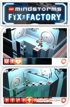 Fix the Factory from LEGO - Free App Teaching Kids Programming, Logic thinking, Spatial intelligence via puzzle games #kidsapps #freeapps