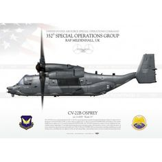 "CV-22B ""Osprey"" 352nd SOG JP-1475"