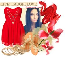 """live laugh love"" by candy420kisses on Polyvore"