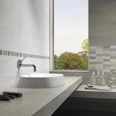 Tile Choice offers a unique range of floor and wall tiles online with installation and maintenance services. Check out our collection for latest designs of stylish tiles. Mosaic Wall Tiles, Wall And Floor Tiles, Border Tiles, Bathroom Wall, Bathroom Ideas, Marble Effect, Grey Stone, All Wall, Flooring