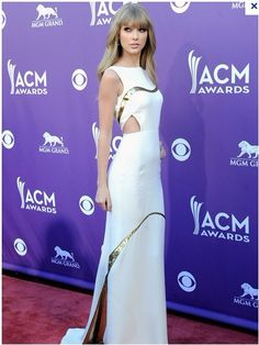 Taylor Swift Prom Dress 2012 Academy Country Music Awards