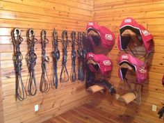Twitter / ColemanEventing: Beautiful tack room ...