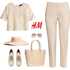 H&M oxford shoes by bodangela on Polyvore featuring moda and H&M