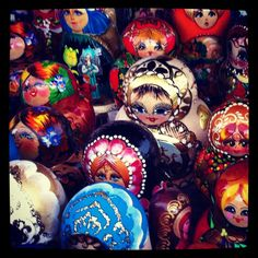 Dolls are staring I-I is shooting in Moscow