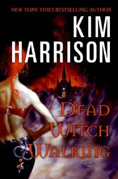 Kim Harrison-The Hollows Series...great books. Waiting for the next one to come out the end of February.