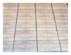 Chocolate bars, seating plan, table names, post box Deannamic Designs Luxury Chocolate, Chocolate Bars, Table Names, Post Box, Gold Invitations, Stationery, How To Plan, Favours, Vintage