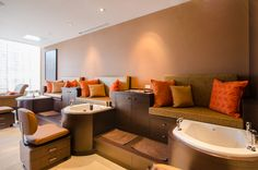 Treatment Area Spa, Couch, Furniture, Home Decor, Settee, Decoration Home, Room Decor, Sofas, Home Furnishings