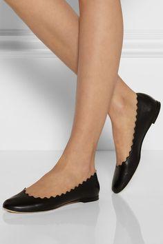 discount nicekicks Chloé Lauren Patent Leather Flats outlet footlocker visit sale online VzSqejtsf2
