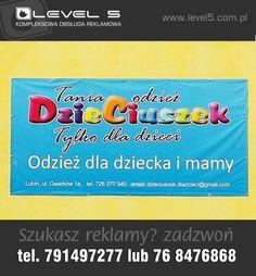 Drukarnia wielkoformatowa w Lubinie. Banery reklamowe, frontlit - telefon 791 49 72 77