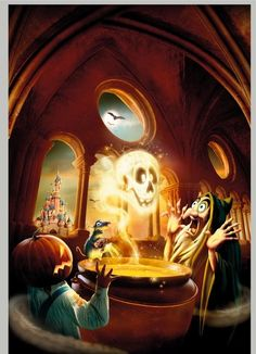 Disney Halloween iPhone Wallpaper     tjn