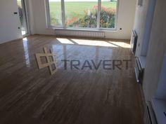 Travertínová dlažba veincut v interiéri | Travert s.r.o. http://travert.sk/referencia/travertinova-dlazba-veincut-v-interieri