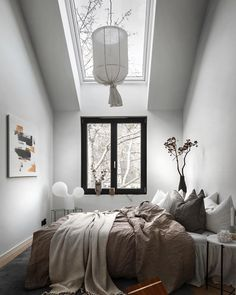 Inspirational ideas about Interior, Interior Design and Home Decorating Style for Living Room, Bedroom, Kitchen and the entire home. Curated selection of home decor products. Home Bedroom, Bedroom Decor, Bedroom Ideas, Minimalist Home Decor, Scandinavian Home, Beautiful Bedrooms, Home Decor Inspiration, Design Inspiration, Interior Design Living Room