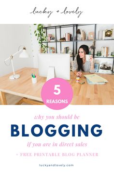 Blogging as a direct