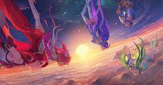 Elas são protetoras feitas de luz, destinadas a desaparecer tão furiosamente quanto queimam. Eles são as Guardiãs Estelares.