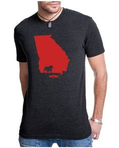 Georgia Mascot by Stated Apparel. Unisex. http://www.countryoutfitter.com/stated-apparel